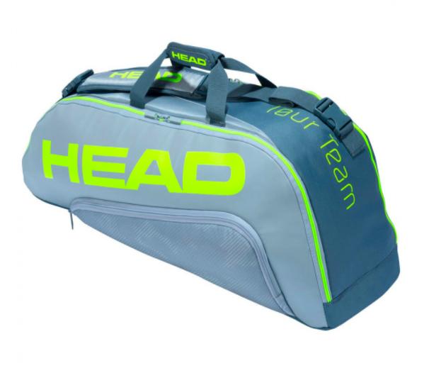 Raqueteira Head Extreme 6R Combi - Cinza
