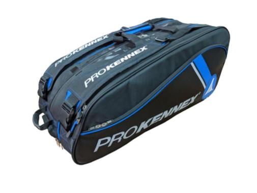 Raqueteira Pro Kennex Tripla Azul/Preta - 2021