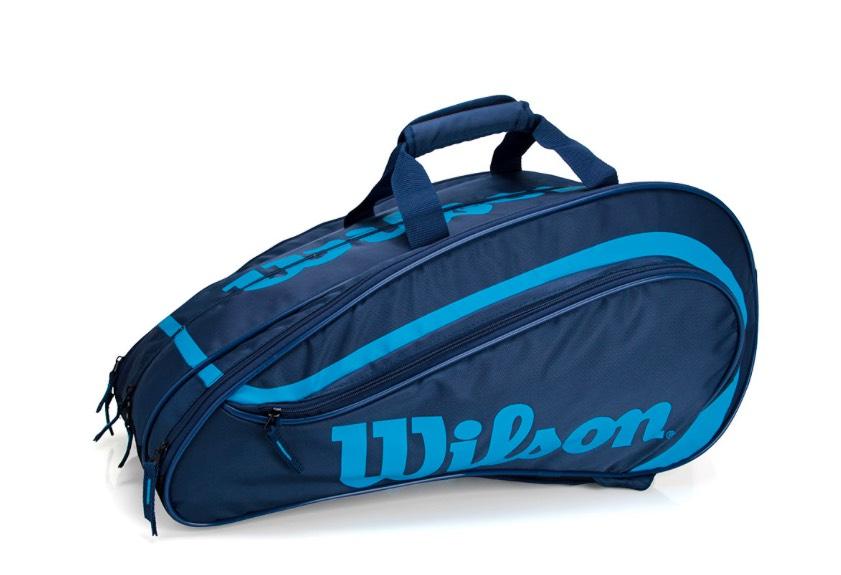 Raqueteira Wilson Beach Tennis e Padel - Azul Marinho