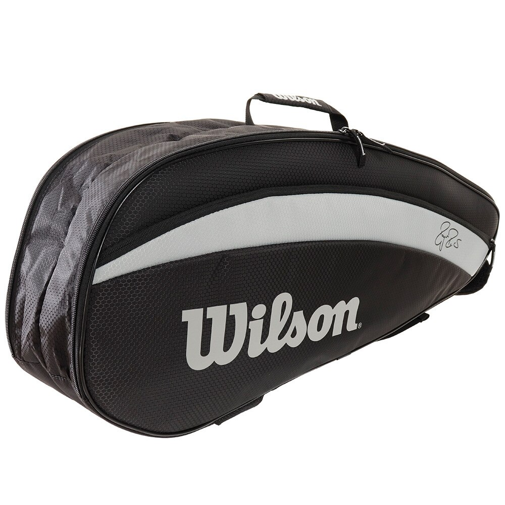 Raqueteira Wilson RF Team 6PK Black
