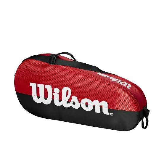 Raqueteira Wilson Team 1 X3 - Vermelha