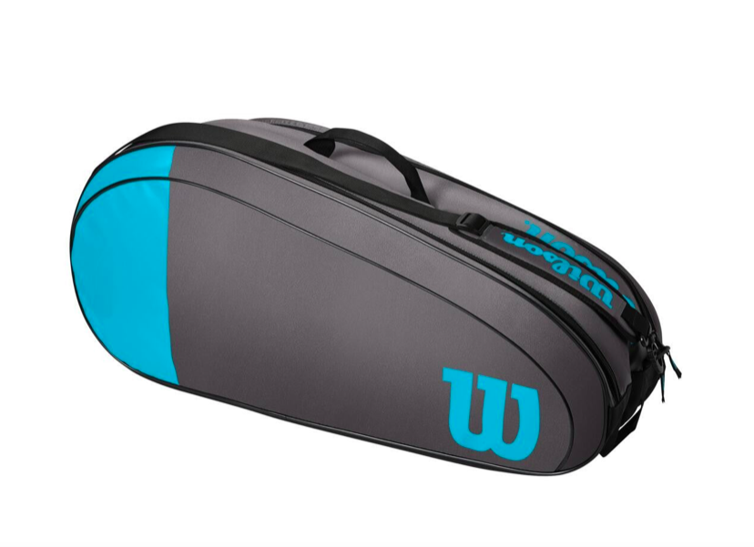 Raqueteira Wilson Team X6 - Azul/Cinza