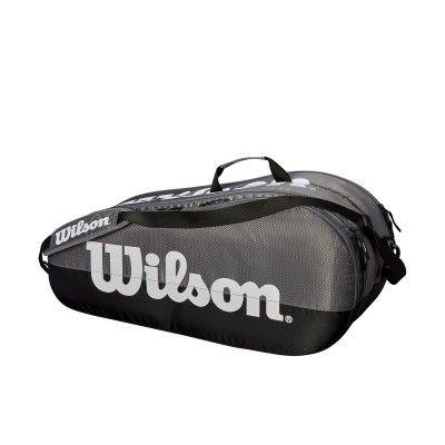 Raqueteira WilsonTeam X6 - Cinza