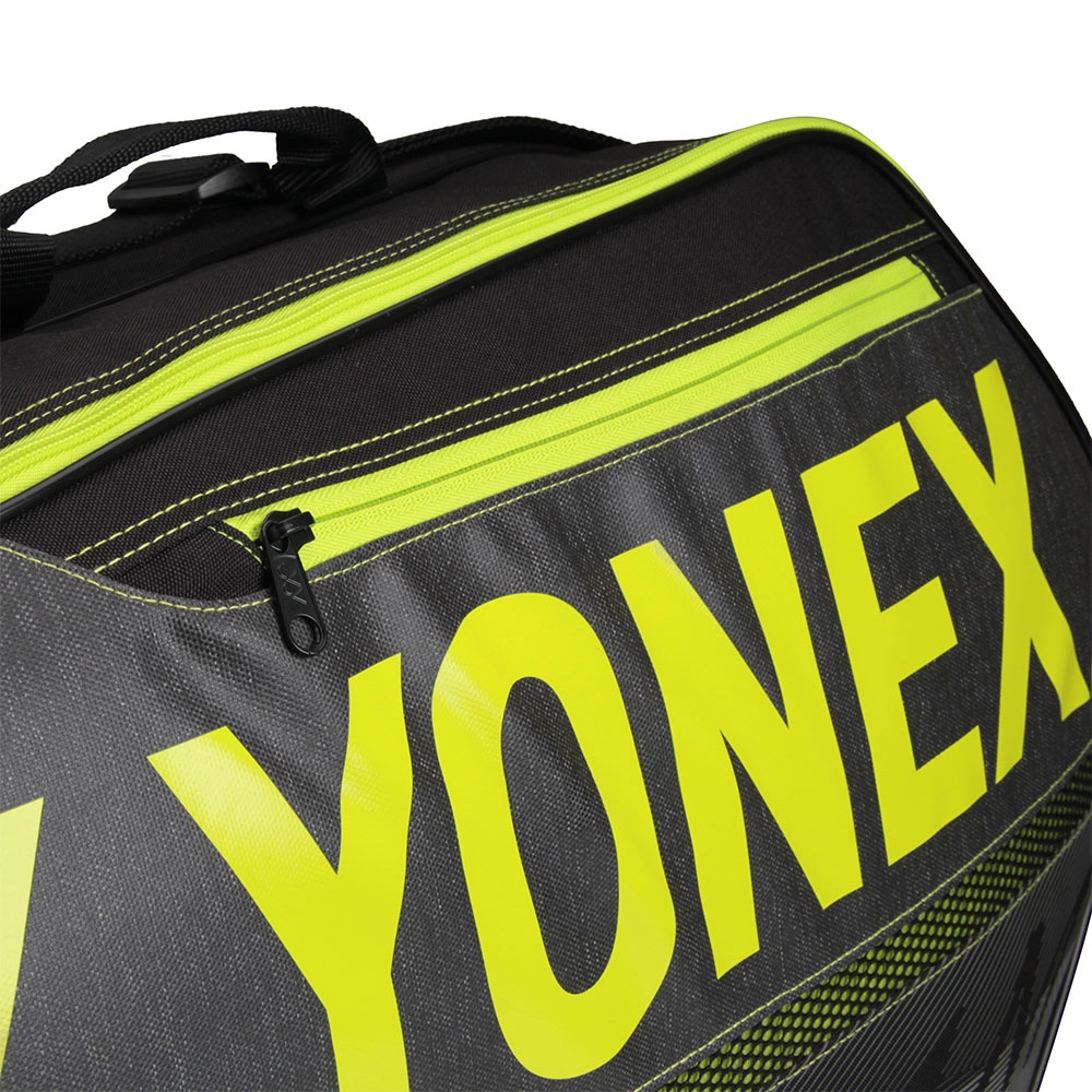 Raqueteira Yonex Team X6 - Preto/Verde