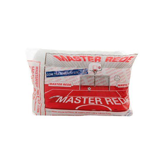 Rede Master Rede Futebol Salão Fio 4mm - Nylon