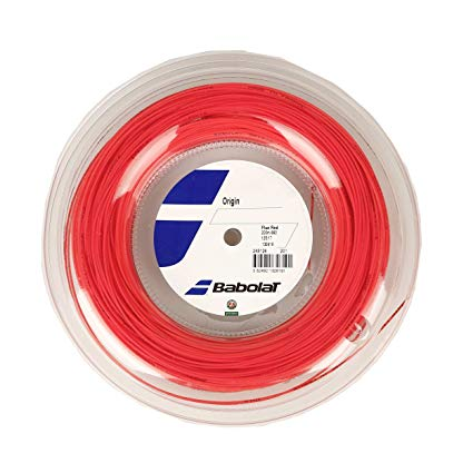 Rolo de Corda Babolat Origin Fluo Red - 1.25mm 200M