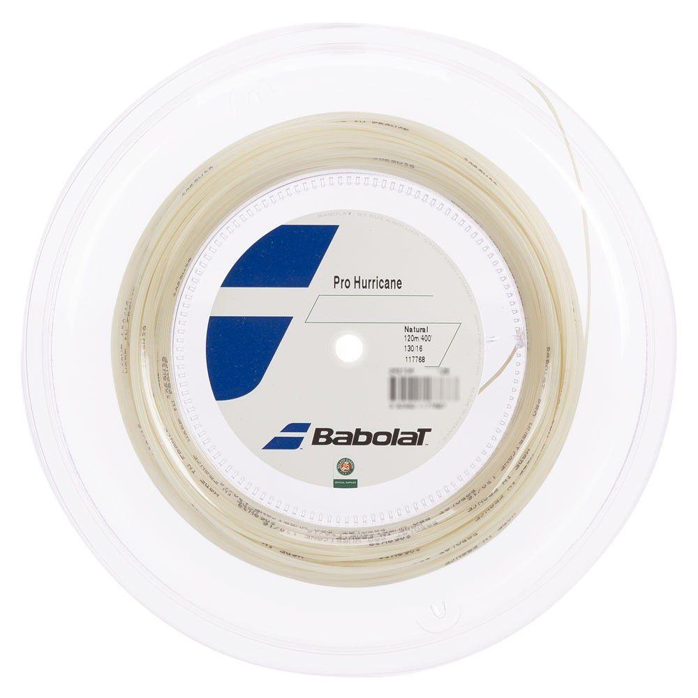 Rolo de Corda Babolat Pro Hurricane 16l 1.30mm Natural -120 Metros