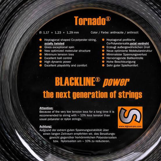 Corda Signum Pro Tornado 1.23mm - Rolo com 200m