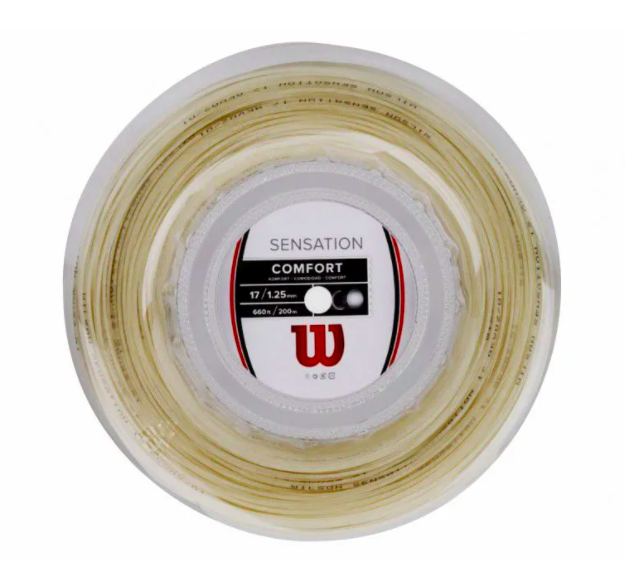 Rolo de Corda Wilson Sensation - 17/1.25mm Rolo com 200 Metros