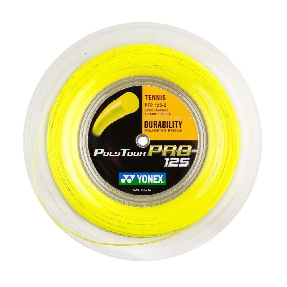Rolo de Corda Yonex Poly Tour Pro - 1.25mm 200M