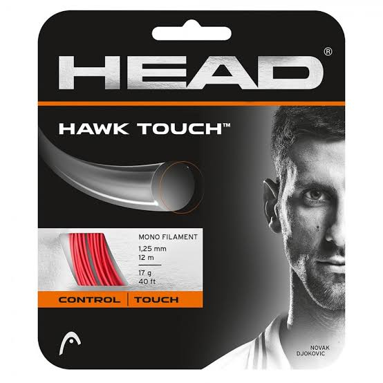 SET CORDA HEAD HAWK TOUCH 17L 1.25MM VERMELHA Djokovic