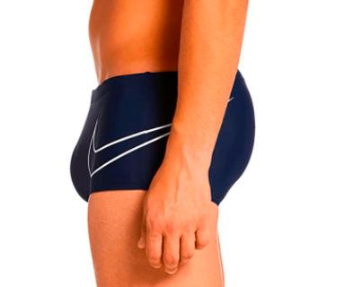 Sunga Nike Logo  - Azul Marinho - NESS8494-440