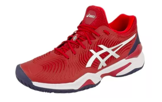 Tênis Asics Court FF Novak - Burgundy/White