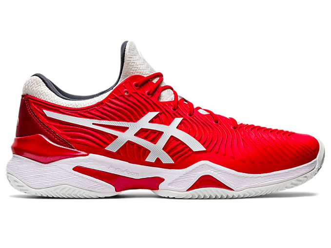 Tênis Asics Court FF Novak Clay - Classic Red/White