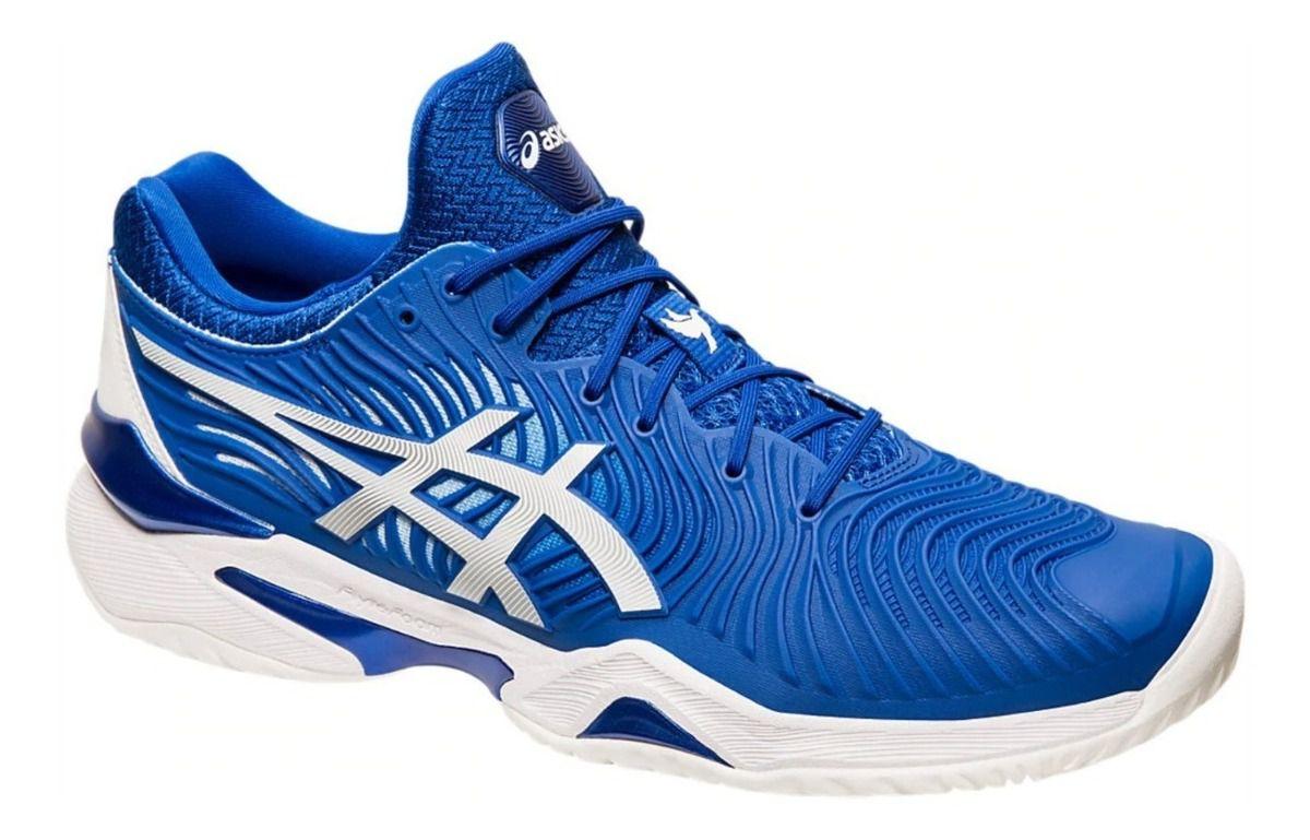 Tênis Asics Court FF Novak - Electric Blue/White