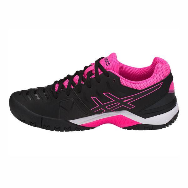 Tênis Asics Gel Challenger 11 - Black/Black/Hot Pink