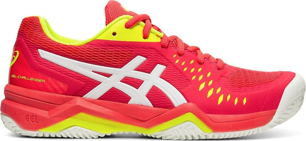 Tênis Asics Gel Challenger 12 Clay - 1042A039-705 - Laser Pink/White