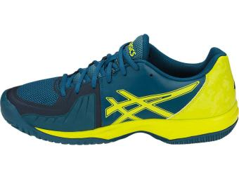 Tênis Asics Gel Court Speed - Ink Blue/Sulphur spring/turkish tile