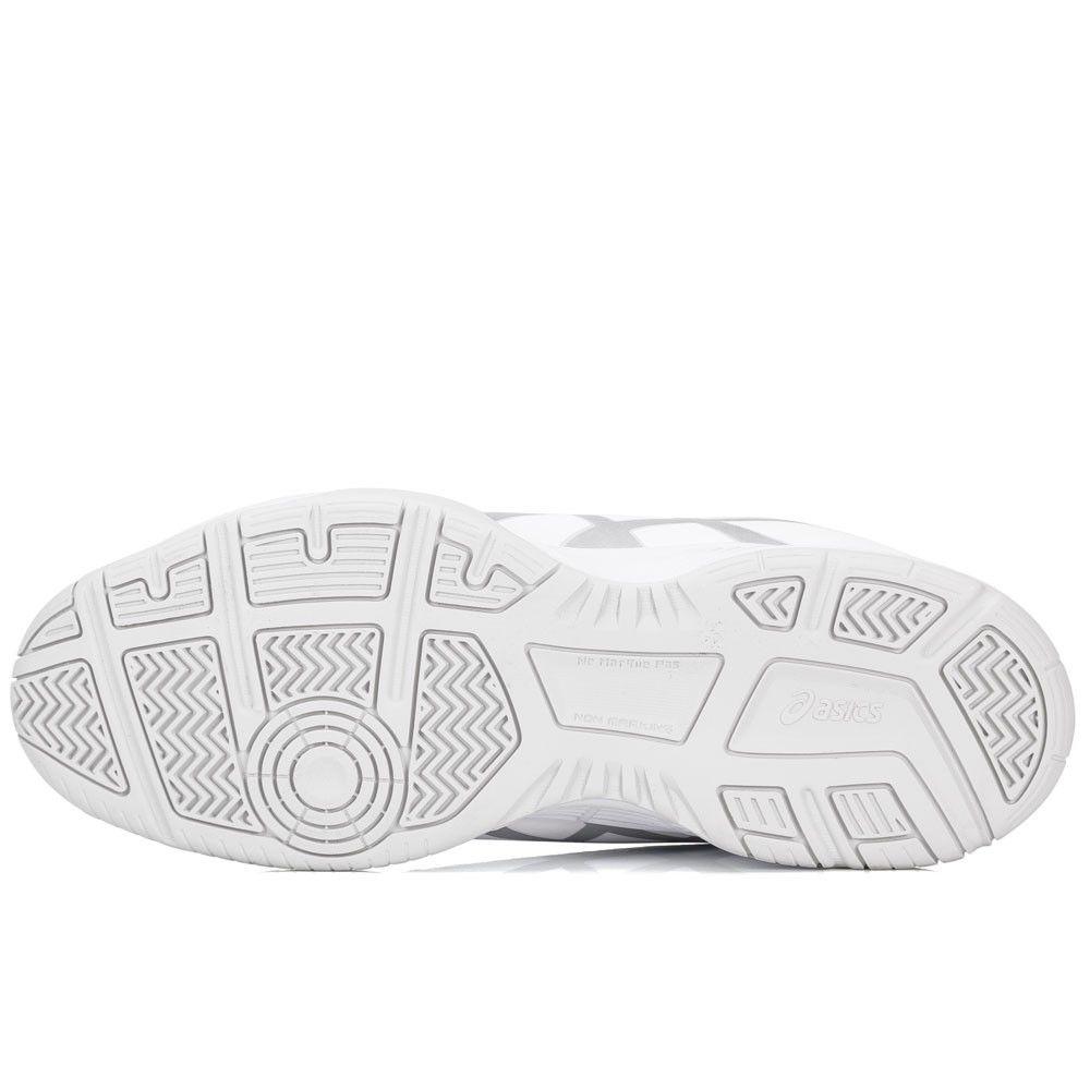 Tênis Asics Gel Dedicate 5 A - White/Silver
