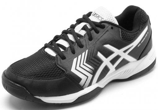 Tênis Asics Gel Dedicate 5 A - E001B-9001- Black/White/Black