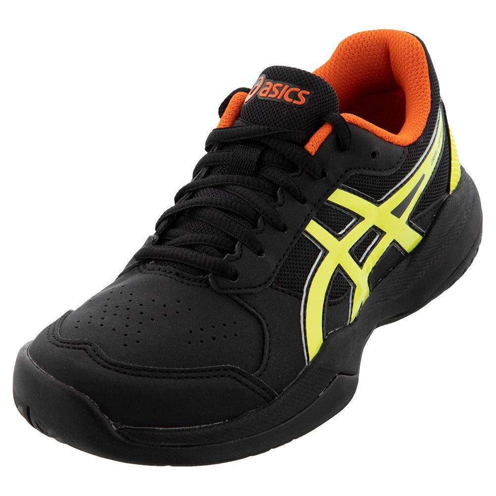 Tênis Asics Gel Game 7 GS - Black/Sour Yuzu