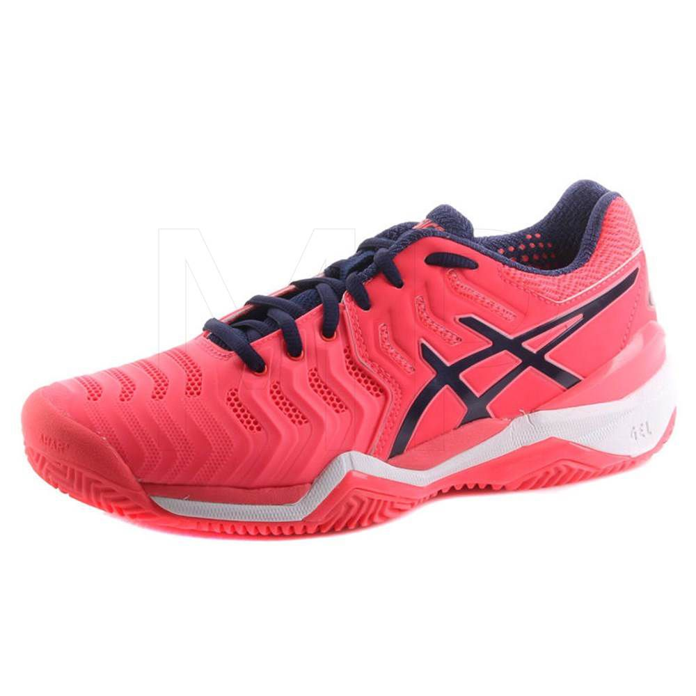 Tênis Asics Gel Resolution 7 Clay - Diva Pink/Indigo Blue/White