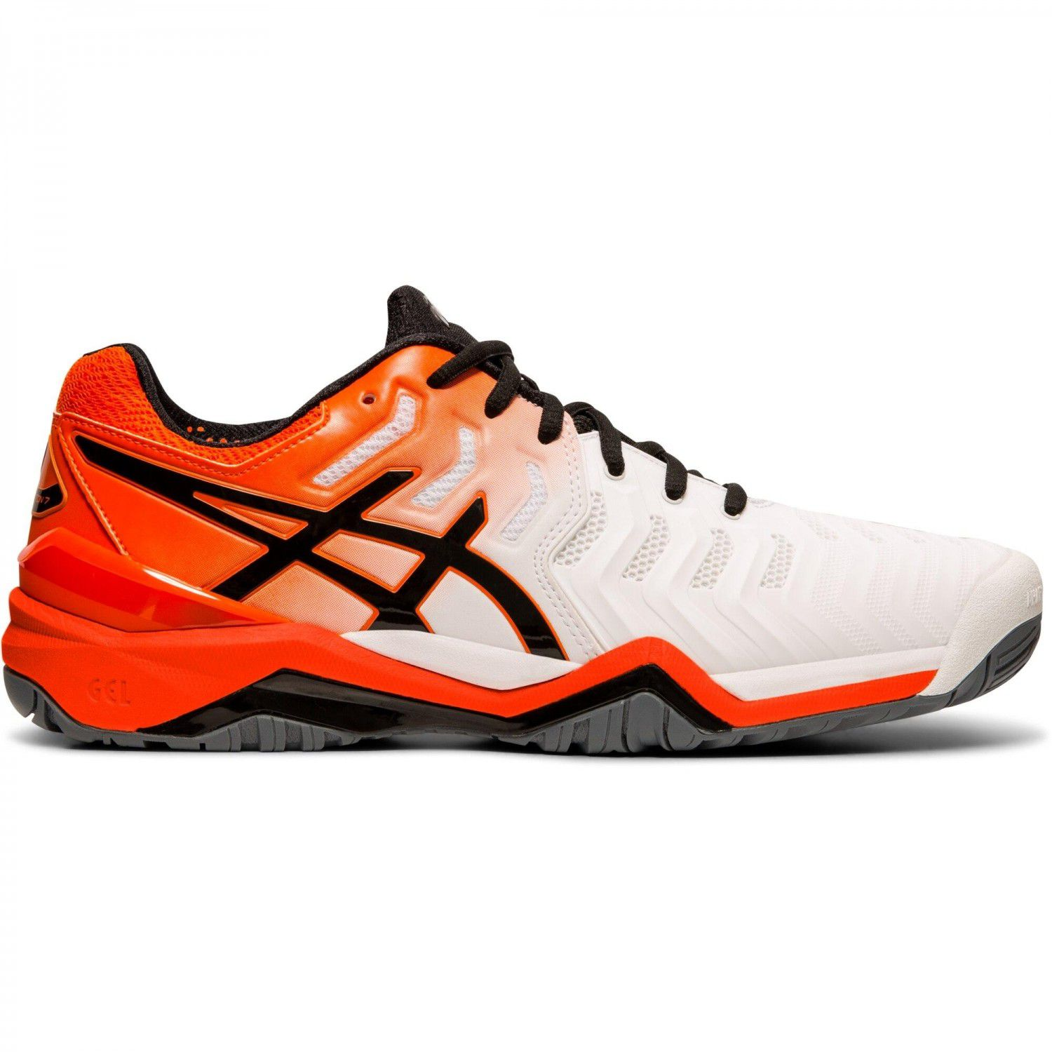 Tênis Asics Gel Resolution 7 E701Y-100 - White/Koi