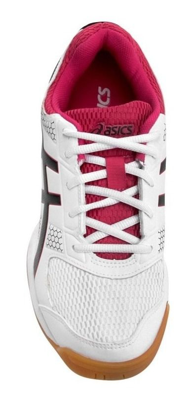 Tênis Asics Gel Rocket 8 A - B056a0190 - White/Black/Bright Rose