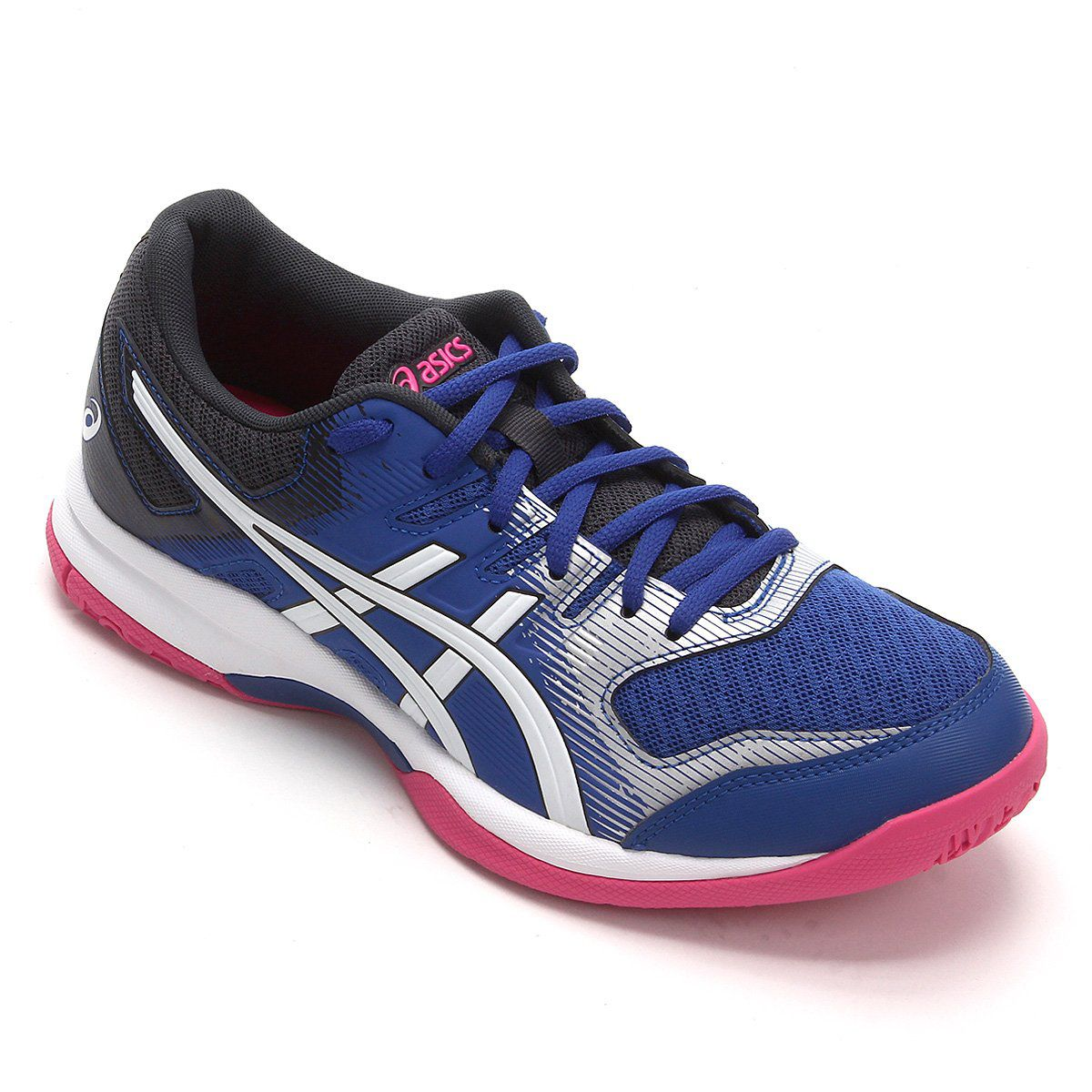 Tênis Asics Gel Rocket 9 - Asics Blue/White