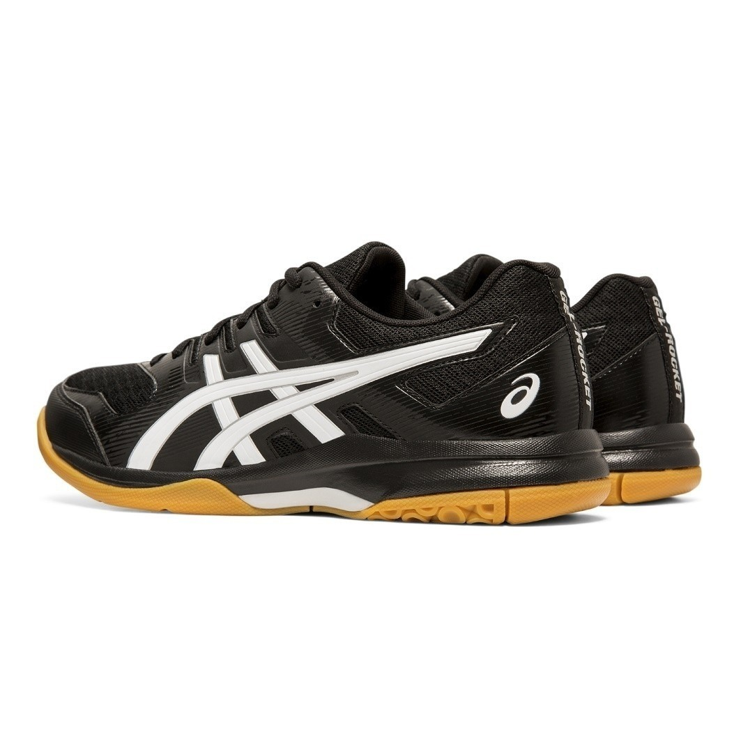 Tênis Asics Gel Rocket 9 - Black/White