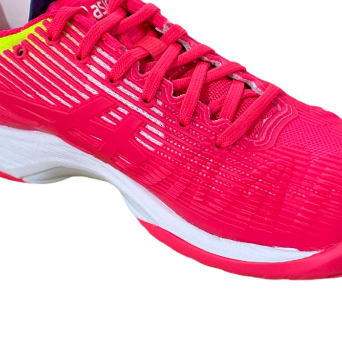 Tênis Asics Solution Speed FF - Laser Pink/White