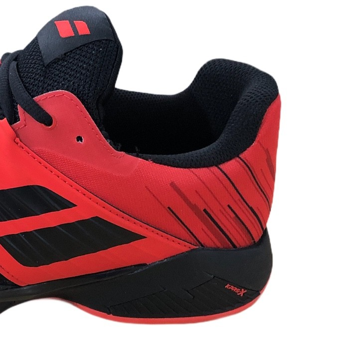Tênis Babolat Propulse Fury Clay Men Black/Tomato Red