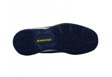 Tênis Infantil Babolat Pulsion All Court Kid - Blue/Fluo Aero