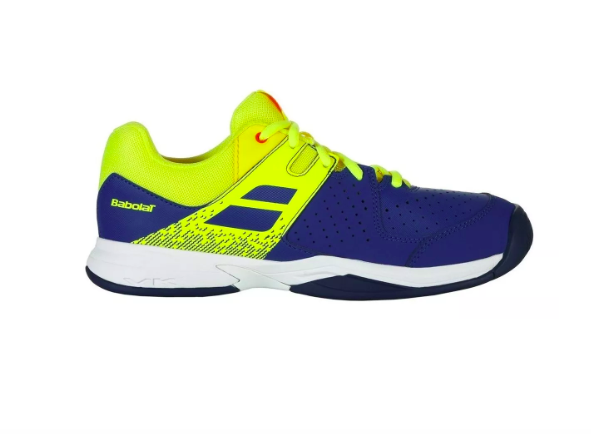 Tênis Infantil Babolat Pulsion All Court Jr - Blue/Fluo Aero