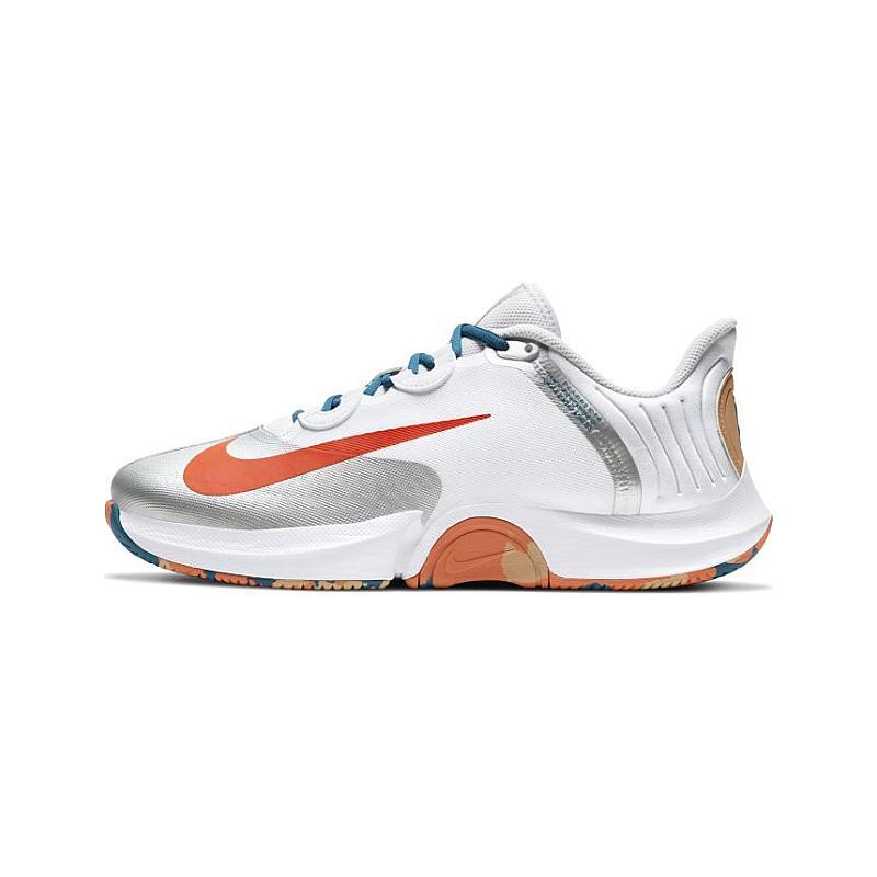 Tênis Nike Air Zoom GP Turbo HC - White/Team Orange-Green Abyss