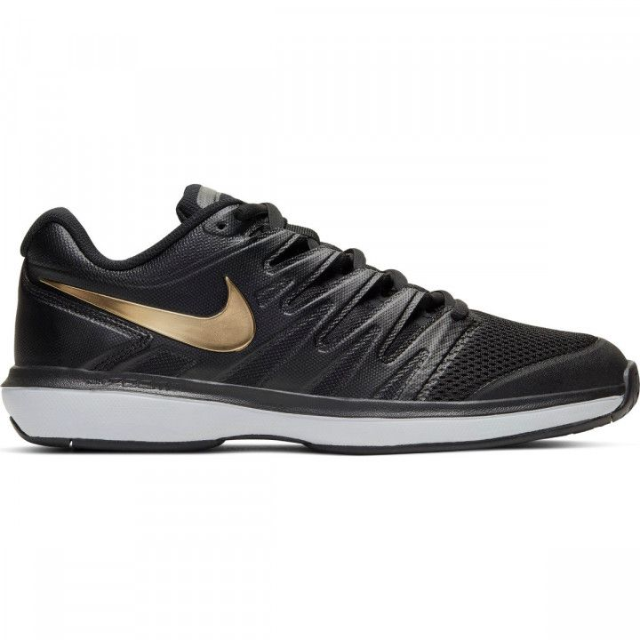 Tênis Nike Air Zoom Prestige Hc - Black/Metallic Gold-White