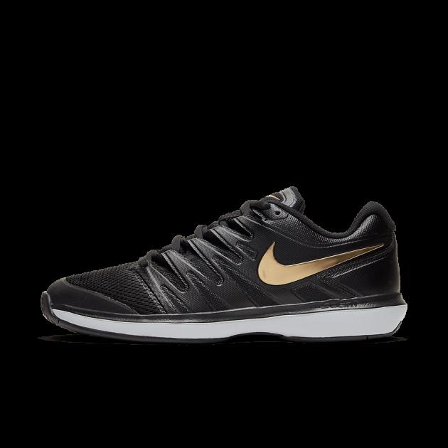 Tênis Nike Air Zoom Prestige Hc - Black/Metallic Gold-White