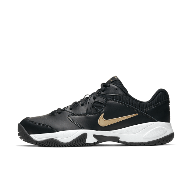 Tênis Nike Court Lite 2 - Black/Metallic Gold-White - Cod AR8836 012
