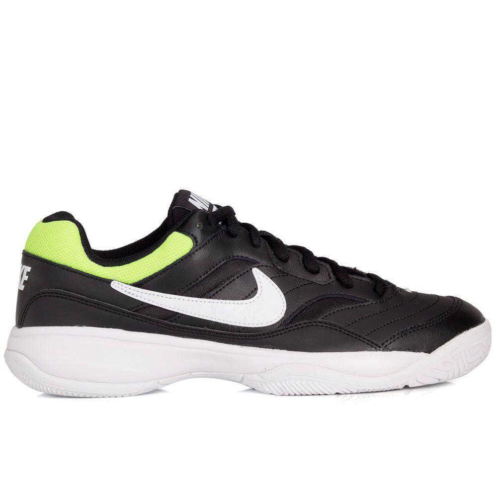 Tênis Nike Court Lite Preto/Verde