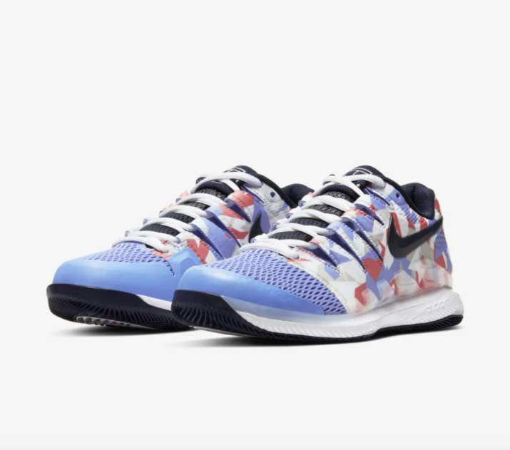 Tênis Nike WMNS Air Zoom Vapor X HC - Royal Pulse/Obsidian-White