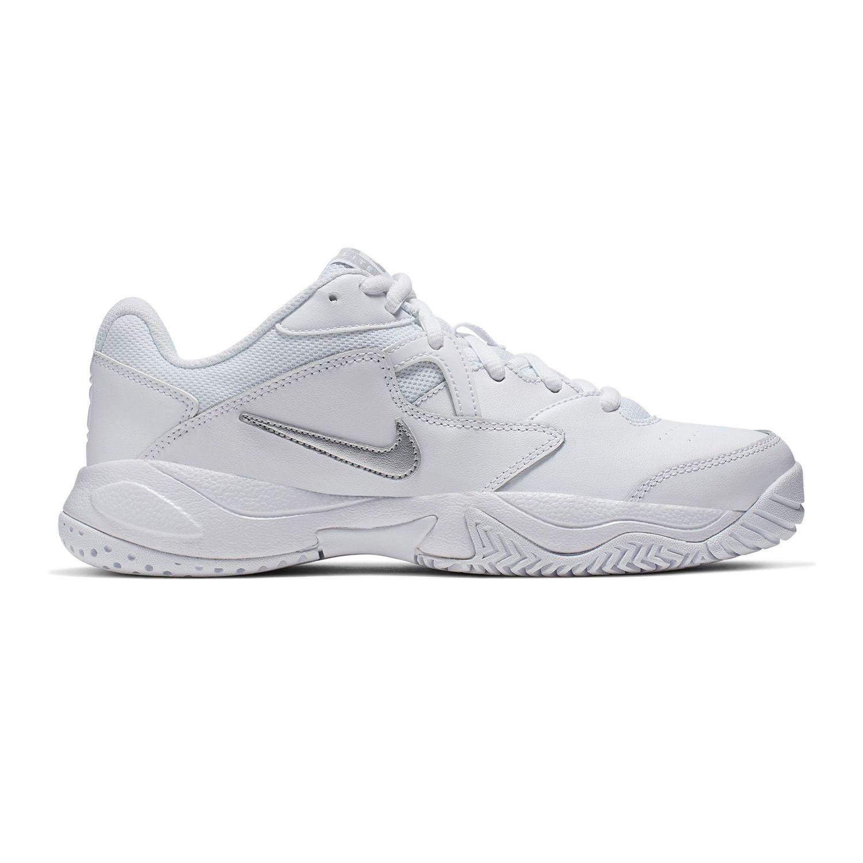 Tênis Nike WMNS Court Lite 2 - Branco/Cinza