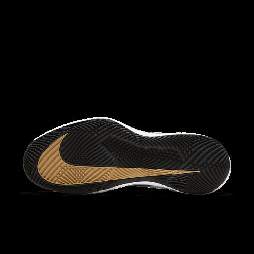 Tênis Nike Zoom Vapor X Hc - Black/Black-Metallic Gold