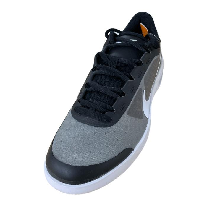 Tênis NikeCourt Air Max Vapor Wing MS Masculino Black/White Neo Turq-Hot Lime