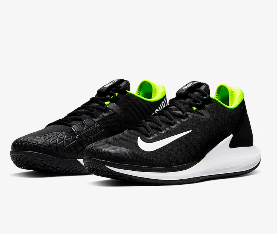Tênis NikeCourt Air Zoom Zero HC - Black/White-Volt