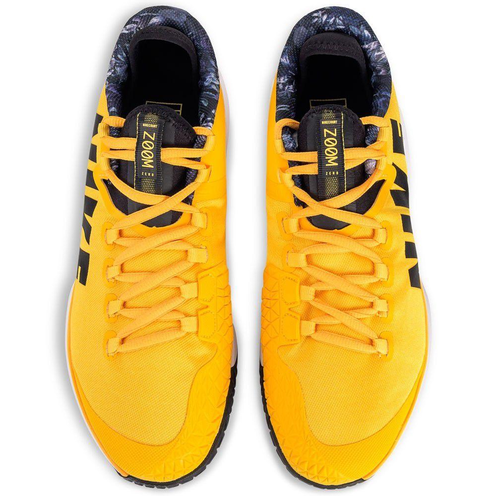 Tênis Nikecourt Air Zoom Zero HC - University Gold/black-white