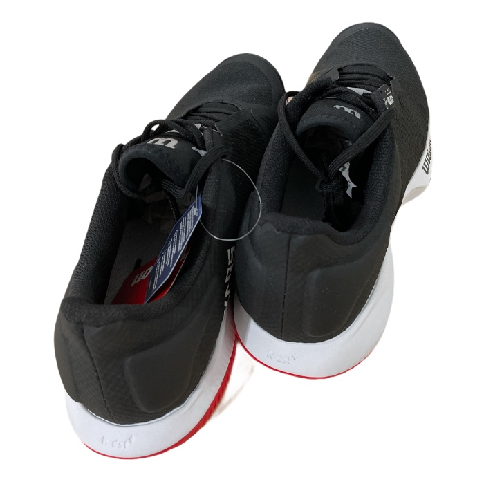 Tênis Wilson Kaos Swift - Black/Pear Blue/Wilson Red