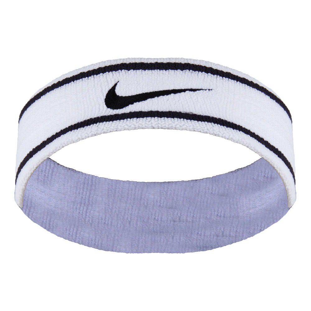Testeira Nike Branco e Preto