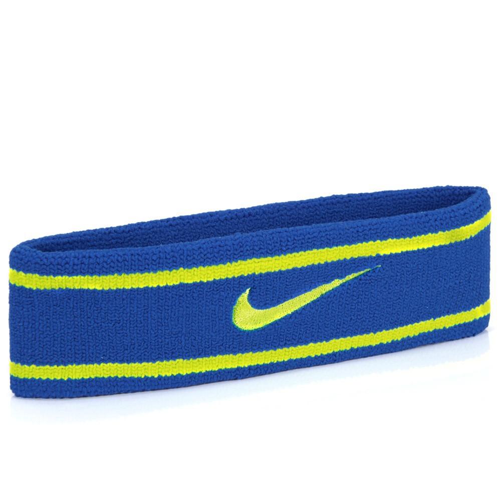 Testeira Nike Dri-Fit Azul/Verde Limão