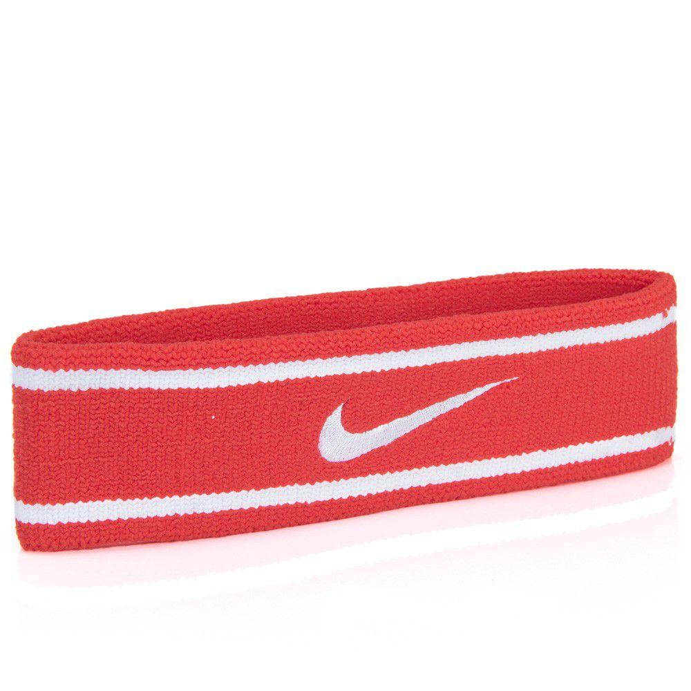 Testeira Nike Dri-Fit Vermelho/Branco