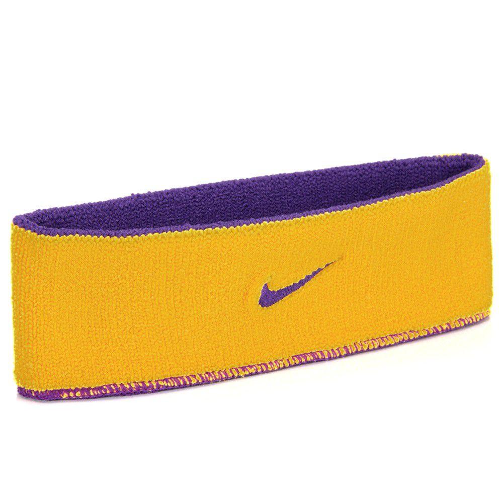 Testeira Nike Home & Away Roxo e Amarelo